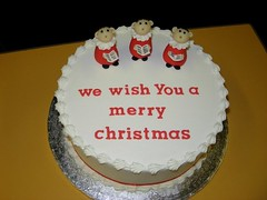 My first attempt at making a Christmas Cake! (ceejay108) Tags: christmas cake choir royal icing merrychristmas fruitcake christmascake choirboys royalicing