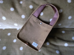 THUMB BAG CORDUROY MEDIUM B@YOSHIDA