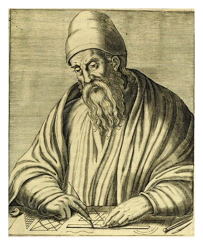005-Euclides-Les vrais pourtraits et vies des hommes illustres grecz, latins et payens 1584-André Thevet