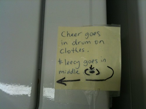 Dryer Instructions #2