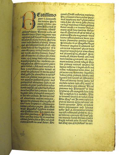 Ownership inscription in Turrecremata, Johannes de: Expositio super toto psalterio