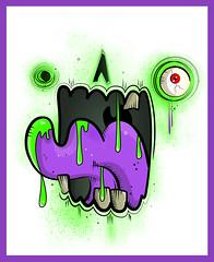 Zombie Face ([rich]) Tags: face zombie rich doodle vector umetoys