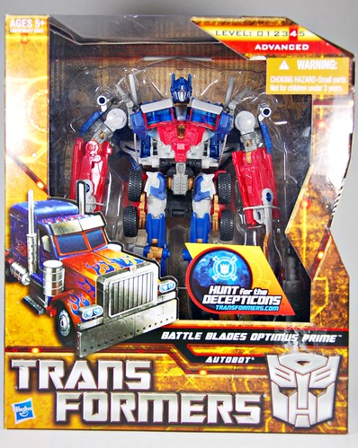 Battle-blade Optimus Prime
