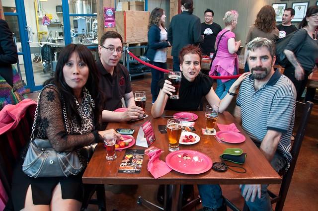 GIB Raspberry Ale launch
