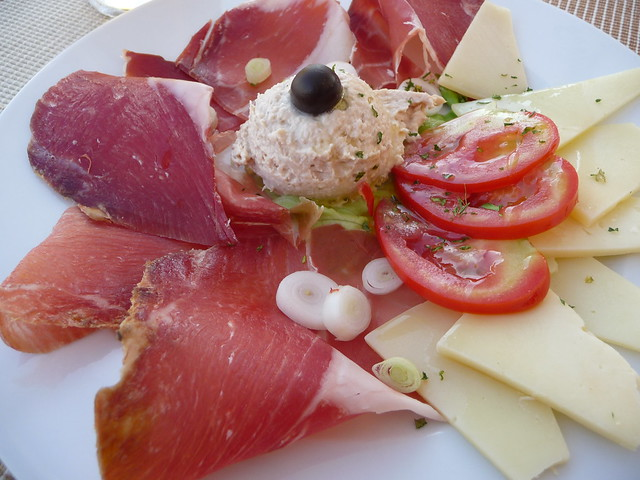 Cold Plate in Kapasanta Restaurant, Trogir