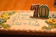 10:52 in 2014- Guilty Pleasures (lorainedicerbo) Tags: 1052in2014 guiltypleasures cake buttercreamfrosting sweetheartbakery birthday mom