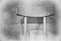 from the series: White Thonet (monochrome) (macplatti) Tags: thonet white chairs stuehle weiss mak museum visitor besucher monochrome sw bw blackwhite schwarzweiss wien austria aut