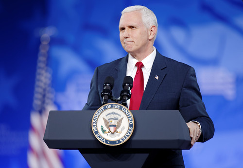 From flickr.com: Vice President Mike Pence at CPAC 2017 {MID-147423}