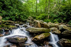 Rocky Stream (Gerald Faulkner) Tags: ifttt 500px stream water river waterfall rocks trees forest mountain bridge