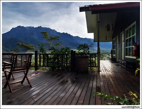 Kinabalu from your balcony?