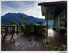 Kinabalu from your balcony (sam4605) Tags: landscape scenery olympus malaysia e1 sabah hdr kinabalu pemandangan kundasang ranau zd lanskap resortspa sabahborneo 1260mm perkasahotel sam4605