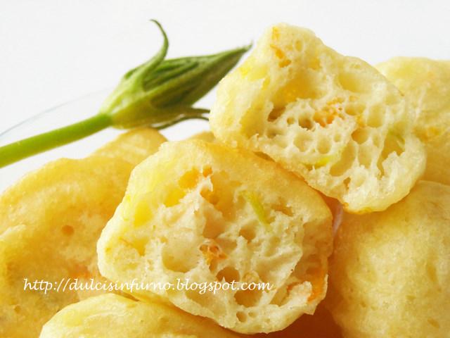 Frittelle ai Fiori di Zucca Rapide - Interno