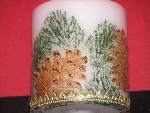Stamped TIssue Candles 007