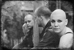 I definitely know you (ladyLara ( Laura Blc )) Tags: old city portrait woman reflection love mirror blackwhite intense nikon photoshoot young makeup romania mihai renata transylvania gaze bold cluj clujnapoca d80 wwwflickrcomfunbuddiesgne nikond80 ladylara laurabalc