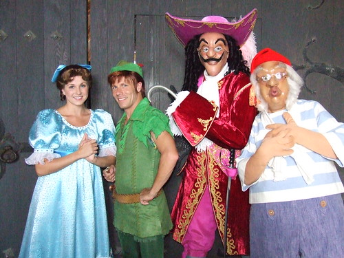 captain hook wendy peter pan and mr smee a photo on flickriver