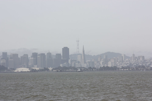 San Francisco viewed from the Berkeley Marina