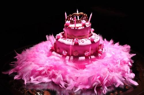 happy birthday cake 16. Home made Sweet 16 Birthday