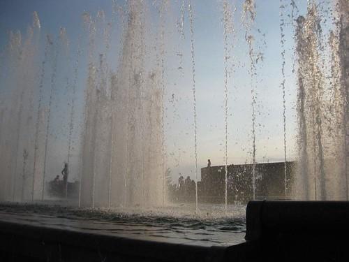Фото фонтан