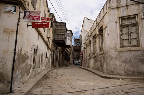 Old street by Leonid Yaitskiy.