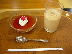 紅茶ババロアとチャイ
