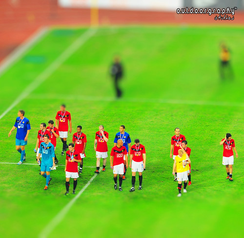 Man Utd Player Miniature (by Sir Mart Outdoorgraphy™)