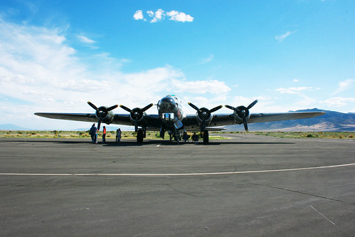 B-17 Bomber front