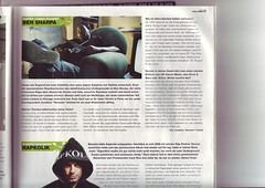 Ben Sharpa Feature in Juice Magazine