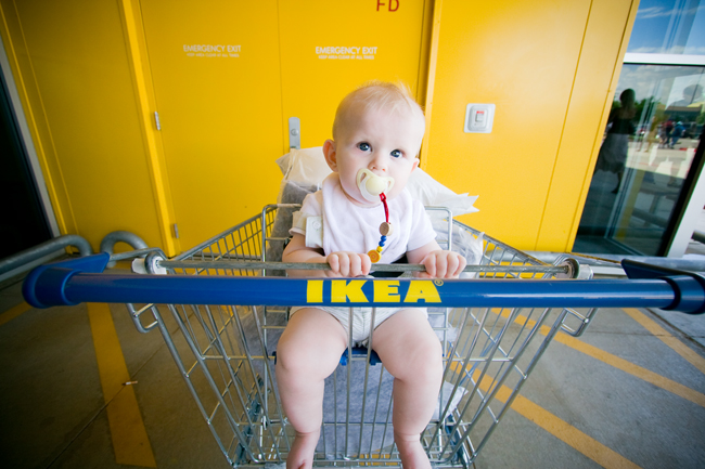 well, back to IKEA.