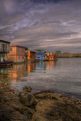 Fisherman's Wharf in HDR (Brandon Godfrey) Tags: world pictures sky canada reflection water beautiful clouds reflections wonderful landscape photography photo amazing fantastic scenery rocks colorful bc shot photos shots pics earth britishcolumbia sony picture pic scene images victoria creativecommons shutters pacificnorthwest northamerica fishermanswharf unreal alpha dslr incredible hdr highdynamicrange houseboats victoriabc jamesbay outstanding songhees a300 photomatix tonemapped photomatrix colorphotoaward singlerawfilehdr platinumheartaward thechallengegame challengegamewinner dslra300 sonya300 100commentgroup newgoldenseal