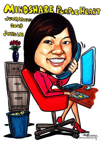 Caricature for Mindshare 2