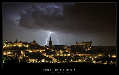 Tormenta sobre Toledo