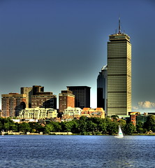 View of prudential… (RajRem) Tags: city travel bridge blue cambridge light vacation sky lake reflection building tower beach nature water glass beautiful boston skyline architecture night clouds sailboat skyscraper canon river dark square ma evening bravo scenery colorful exposure skies cityscape view shot state image mit massachusetts charlesriver shoreline scenic bridges dramatic architectural advertisement glorious edge highrise reflective rays minimalism architects copley minimalist prudential hdr backbay longfellow sunray bostonist photomatix metroboston canon400d canondigitalrebelxti rajrem