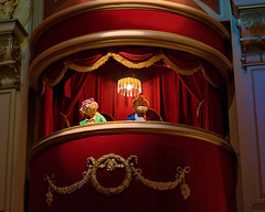 Daily Disney - Stadler and Waldorf (Express Monorail) Tags: travel walter vacation usa america dark wonder geotagged fun psp orlando nikon funny comedy theater florida availablelight balcony magic muppets waldorf dream wed elias disney mickey disneyworld fantasy mickeymouse imagine theme wish orangecounty wdw waltdisneyworld walt magical kissimmee themepark attraction waltdisney d300 jimhenson wdi lakebuenavista imagineering muppetvision3d themuppetshow baylake stadler waltdisneyworldresort disneypictures audioanimatronic disneyparks streetsofamerica disneypics expressmonorail disneyphotos disneyshollywoodstudios paintshopprophotox2 joepenniston disneyphotography disneyimages geo:lat=28354652 geo:lon=81559612