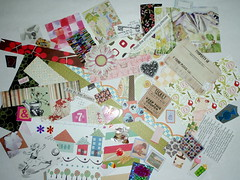 dollhouse paper packet