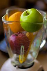 Fruit Shake (michaeljosh) Tags: orange apple fruits banana blender oster nikkor50mmf14d project365 nikond90 michaeljosh