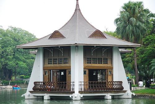 台中公園,湖心亭,台中市地標。