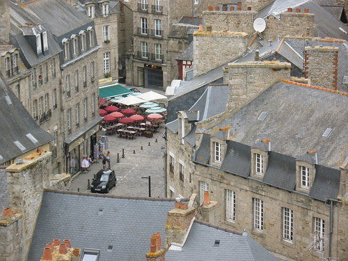 View from Dinan Clock Tower par damnkids