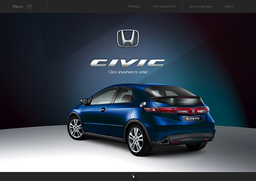 Civic e-brochure