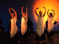 Flamenco 49 (raspu) Tags: madrid party espaa woman girl festival pilar teatro dance mujer spain theater fiesta chica olympus dancer baile flamenco e30 beltran bailarines raspu 50200
