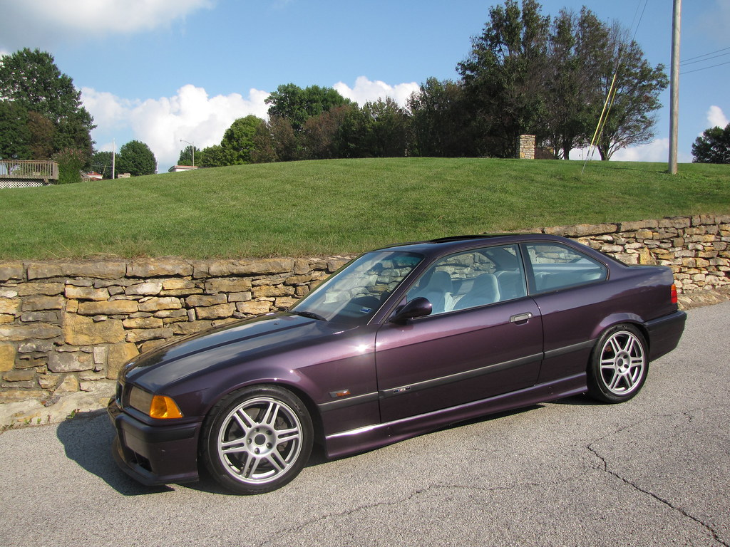 E36 Fs 1995 Bmw M3 Daytona Violet Suspension Mods