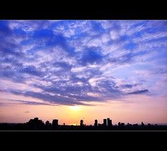 September Sky (Violet Kashi) Tags: sky sun skyline clouds nikon cityscape kashi sunet d90 theunforgettablepictures