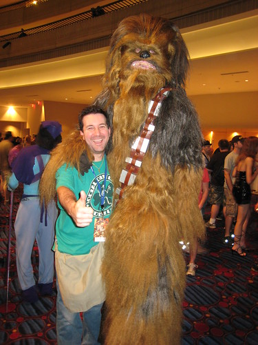 Dragon*Con - Serv and Chewbacca