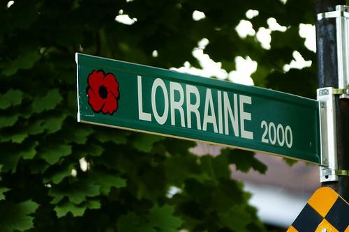WWI & II Windsor Streets - Lorraine
