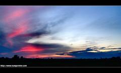 Deep Purple / Mély Bíbor (FuNS0f7) Tags: sunset hungary deeppurple szolnok sonycybershotdscf828 colorphotoaward cloudslightningstorms alcsisziget