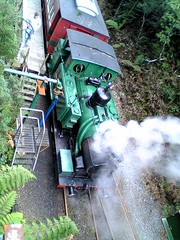 ABT Steam Locomotive from Above