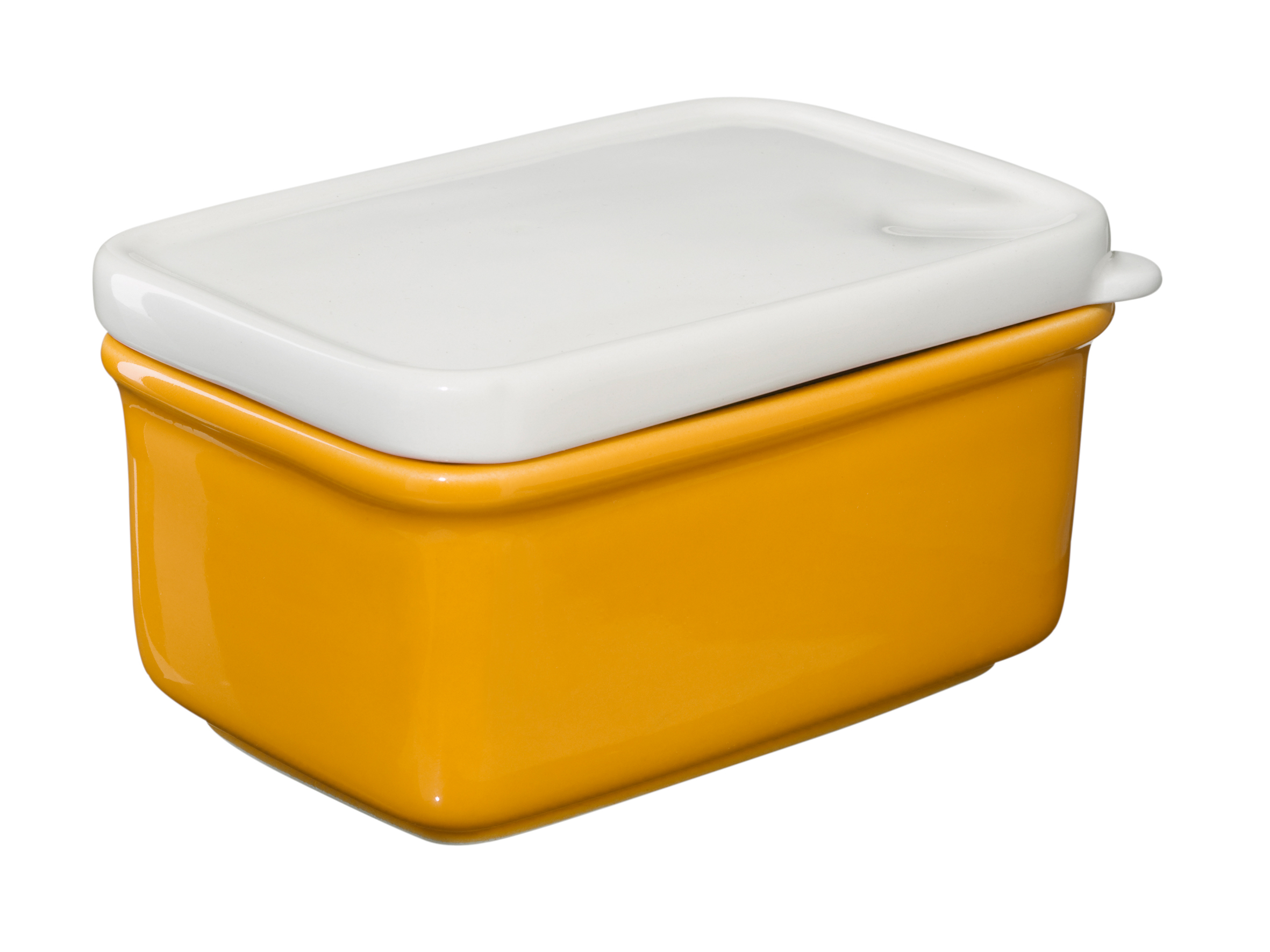 Butter Dish - Is that Plastic? - Yellow