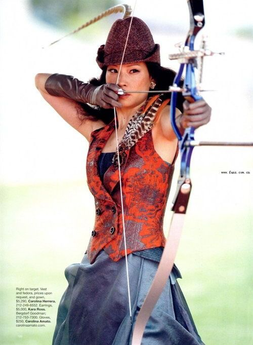 Lucy Liu' Fashion Olympics 2008 Photoshoot - beautiful girls