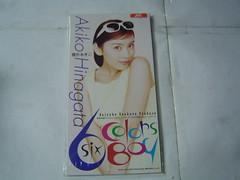 全新 原裝絕版 1996年 4月24日 雛形あきこ AKIKO HINAGATA 蠟筆小新 six colors boy CD 原價 1000YEN