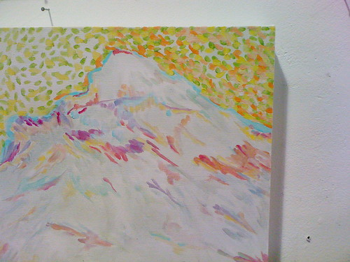 Little Mountain Painting