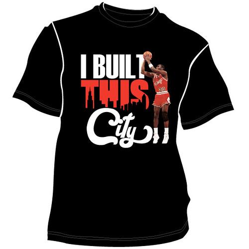 I built this city t-shirt